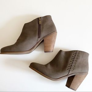 Jessica Simpson Heeled Calawyn Ankle Booties 9.5